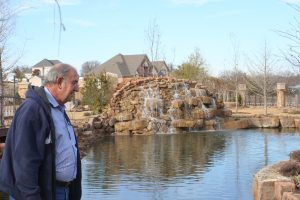 Building a Pond: Ron Morgan