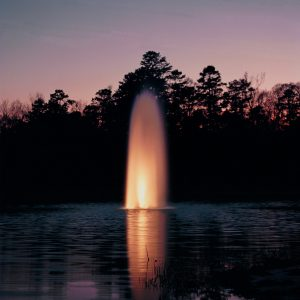 Fountains are beautiful. Since they typically draw shallow, they're not as valuable as aeration systems.