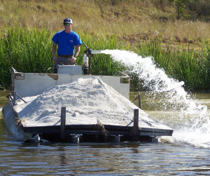 Liming Stabilize Water Quality